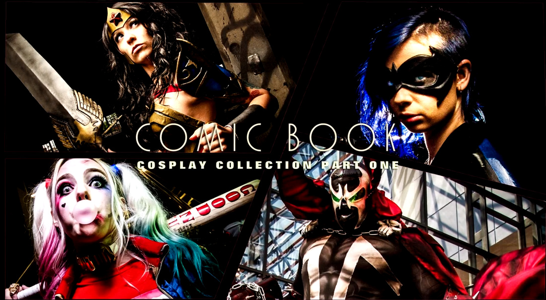 2016-02-27 13_42_27-Cosplay COMIC BOOK Collection One from The Portrait Dude - YouTube