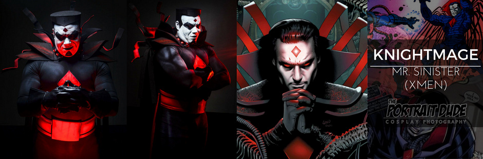 Knightmage as Mr. Sinister