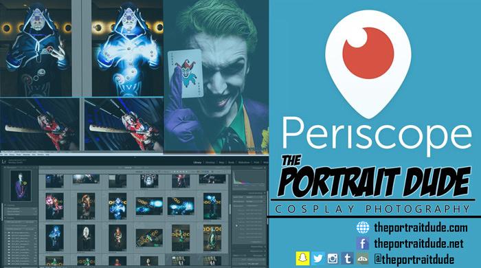The Portrait Dude - Periscope Promo